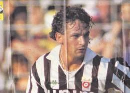 C0891 - POSTER Inserto JUVE SQUADRA MIA - CALCIO - ROBERTO BAGGIO - JUVENTUS - Calcio