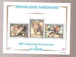 - 2740 A -  BLOK 28 - Gabon (1960-...)