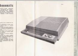 C0951 - ISTRUZIONI E GARANZIA GIRADISCHI PHONOMATIC DISCHI 45 GIRI 1971 - Other Apparatus