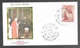 GIOVANNI PAOLO II - VISITA A CASSINO - ANNULLO SPECIALE  20.9.1980 - BUSTA - - Papi