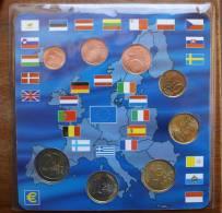 ITALIA 2002 - EURO COINS FIRST EMISSION - Italia
