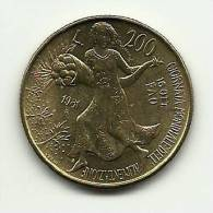 1981 - Italia 200 Lire Commemorativo, - 1946-… : Repubblica