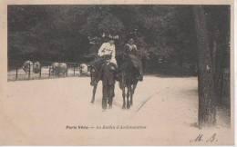 PARIS VECU ( Au Jardin D' Acclimatation Promenade A.cheval) - France