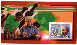 Rep. Guinée ** Bloc N° 333 - Nelson Mandela, Minéraux - Guinea (1958-...)