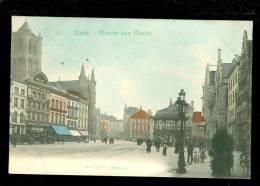 Gent - Gand  :  Marché Aux Grains - Gent