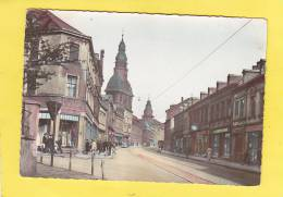 CPSM - D - VÖLKLINGEN  Saar  - Rathausstrasse-  Magasin Gottlieb - Autres