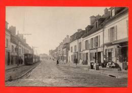 ANTONY - Route D'Orléans. (Belle Animation Tramway) - Antony