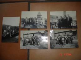 5 PHOTOS - SAINT PRIEST LA ROCHE 42 LOIRE - Lieux
