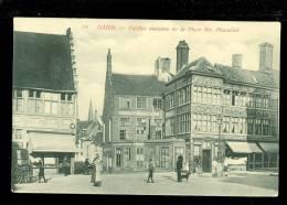Gent - Gand  :  Vieilles Maisons De La Place Ste Pharailde - Th Van Den Heuvel N°115 - Gent