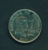 PHILIPPINES  -  2001  1 Peso  Circulated As Scan - Philippines