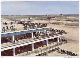 AEROPORT DE PARIS -ORLY TERRASSES DE LA FACADE SUD REF 8928 - Flugwesen
