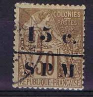 Saint-Pierre Et-Miquelon: Yv  Nr 12 ,used   Maury Cat Value €   50, Signée - St.Pierre & Miquelon