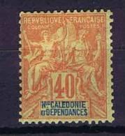 Nlle. Caledonië  Yv. 50 MH/*, Cat Value € 26 - Nieuw-Caledonië