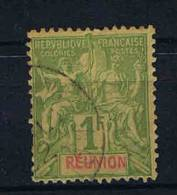 Reunion: Yv 44 Used,  Maury Cat Value €  45 - Réunion (1852-1975)