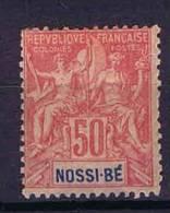 Nossi Bé Yv. 37, MH/* Cat Value € 22 - Nossi-Bé (1889-1901)