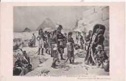 NAPOLEON ET SON EPOQUE 72 BONAPARTE EN EGYPTE (1798)  TABLEAU DE MAURICE ORANGE - Histoire