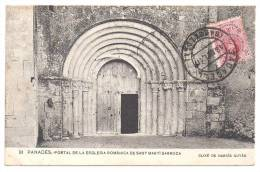 PANADES - Portal De La Esglesia Romanica De Sant Marti Sarroca - Barcelona