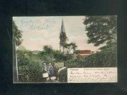 AK Allemagne - Viersen - Gartenweg Mit Evangelische Kirche ( Animée Reinicke & Rubin) - Viersen