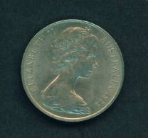 AUSTRALIA  -  1978  20 Cents  Circulated As Scan - Decimal Coinage (1966-...)