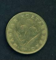 HUNGARY  -  1993  20 Forint  Circulated As Scan - Hungría