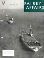 FAIREY AFFAIRS - December 1948 - Avions, Bateaux, Hélicoptère GYRODYNE  FAIREY - (SONACA)         (2890) - Magazines & Papers