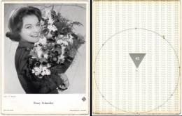 Carte (non-postale) : Romy Schneider - Künstler