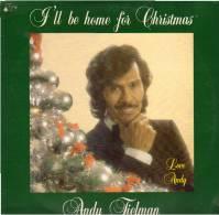* LP *  ANDY TIELMAN - I'LL BE HOME FOR CHRISTMAS (Holland 1980) Very Rare!!! - Kerstmuziek
