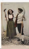 CHARMANT INTERMEDE PENDANT LA FENAISON 1020   LES PYRENEES (COUPLE BEAU PLAN) 1934 - Landbouw