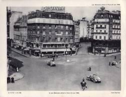 Gravure 27 X 21  - Les Allemands Entrent à Paris (14 Juin 1940) - Wehrmacht - Books, Magazines  & Catalogs
