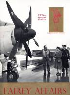 FAIREY AFFAIRS - Naval Review Number - Diadematis Accepti Anno 1953 - Avions, Bateaux  FAIREY - (SONACA)   (2899) - English