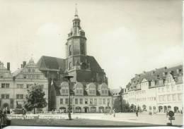 N°27624 -cpsm Nuamburg/Saale -Wilhelm Pieck Platz - Naumburg (Saale)