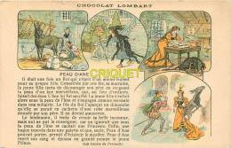 Publicité, Chocolat Lombart, Contes De Perrault, Peau D'Ane - Publicité