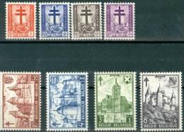 N° 868-875  XX - 1951 - Belgique