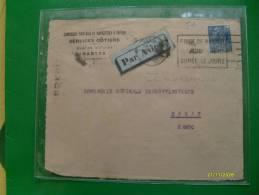 1931  Da NANTES Per RABAT Marocco Par Avion Timbro Arrivo Al Verso - Brieven En Documenten