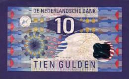 NETHERLANDS ,  Banknote  ,Used VF, 10 Gulden IJsvogel - [2] 1815-… : Kingdom Of The Netherlands