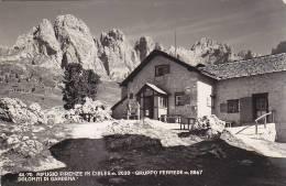 E58- Dolomiti Di Gardena- Rifugio Firenze In Cisles - Bolzano - F.p.  Viaggiata - Bolzano (Bozen)