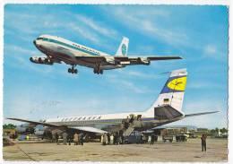 TRANSPORT AERODROMES FRANKFURT AM MAIN RHEIN-MAIN GERMANY BIG POSTCARD 1967. - Aerodrome