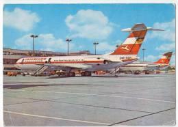 TRANSPORT AERODROMES SCHONEFELD BERLIN GERMANY BIG POSTCARD - Aerodrome