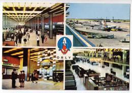TRANSPORT AERODROMES ORLY PARIS FRANCE BIG POSTCARD - Aerodrome