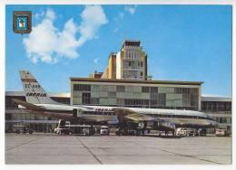TRANSPORT AERODROMES BARAJAS MADRID SPAIN BIG POSTCARD - Aerodrome