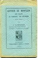 1921 Autour De Montzen, Son église, Sa Paroisse, Ses Environs + Carte Politique Et Linguistique De J. Langohr - Books, Magazines, Comics