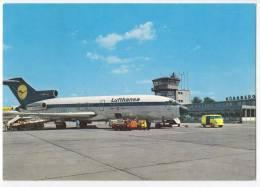 TRANSPORT AERODROMES NURNBERG GERMANY BIG POSTCARD 1972. - Aerodrome