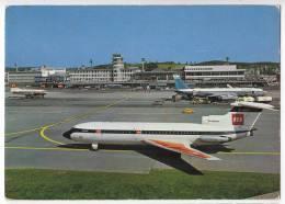 TRANSPORT AERODROMES KLOTEN ZURICH SWITZERLAND BIG POSTCARD 1975. - Aerodrome