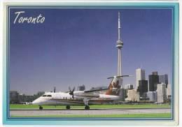 TRANSPORT AERODROMES TORONTO ONTARIO CANADA BIG POSTCARD 1999. - Aerodrome