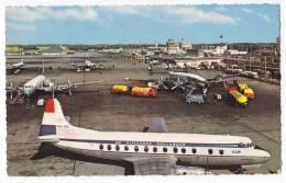 TRANSPORT AERODROMES SCHIPHOL AMSTERDAM HOLLAND OLD POSTCARD - Aerodrome