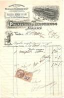 Facture/Palais Des Marchands/Mondain-Guessard/ANGERS/ 1926             FACT26 - Sport En Toerisme
