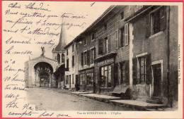 CPA 42 Vue De NOIRETABLE   L 'église Dos Ligné 1903 - Noiretable