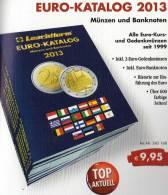 EURO Katalog Deutschland 2013 Für Münzen Numisblätter Numis-Briefe Neu 10€ Mit €-Banknoten Coins Catalogue Of EUROPA - Voyage & Divertissement