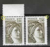 "N° 2057b**_GT_ton ""délavé""_N° 2057**_GB_les Deux Plus Grands - 1977-81 Sabina Di Gandon"