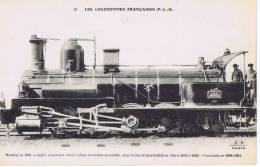 Les Locomotives Françaises (P.L.M.)  - Col. Fleury - N°22 - Machine 4061 - Trains
